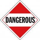 D.O.T. Dangerous Placard