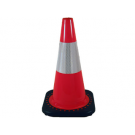 "JBC 12""- 1.5lb Orange Cone with 4"" Collar"