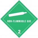 D.O.T. Non-Flammable Class 2 Placard