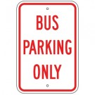 No Parking - Bus Parking Only