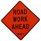W20-1 Road Work Ahead Roll-Up Sign
