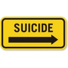 Suicide Truck Decal