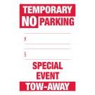 Temporary No Parking Sign - Special Event Tow-Away