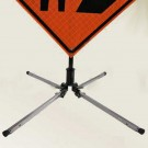 Traffix #22700 USH Single Spring, Aluminum Leg Sign Stand