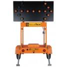 SolarTechnology Silent Sentinel 50 Watt, 15 Lamp Arrow Board