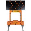 SolarTechnology Silent Sentinel 50 Watt, 25 Lamp Arrow Board