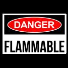 Flammable Danger Decal