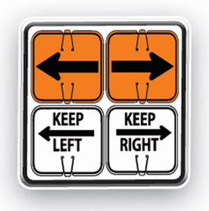 Cone-Mounted Signs