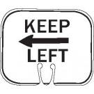 R4-8a KEEP LEFT