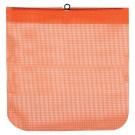 18-Inch Wire Loop Orange Mesh Overhang Flag